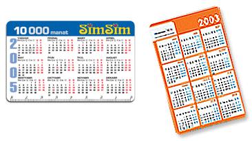 Promosyon Takvimli kart 2014